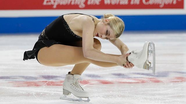 American figure skater made some waves with her comments about her weight concerns.