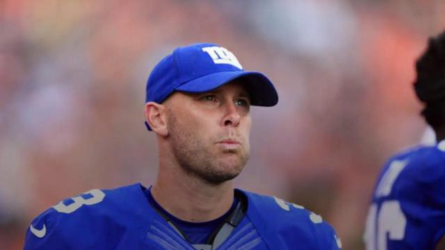 Giants release kicker Josh Brown