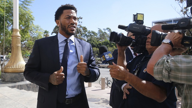Knicks  Derrick Rose trying to catch up after trial  distraction  03015b4a7d