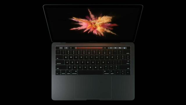 Apple is killing the function keys. The company unveiled Thursday a new version of the MacBook Pro with a thin touch display that sits above the keyboard.