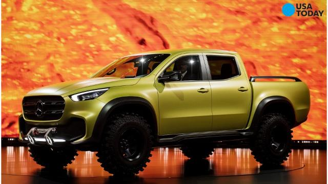 Mercedes benz reveals luxury pickup truck for Mercedes benz pickup truck
