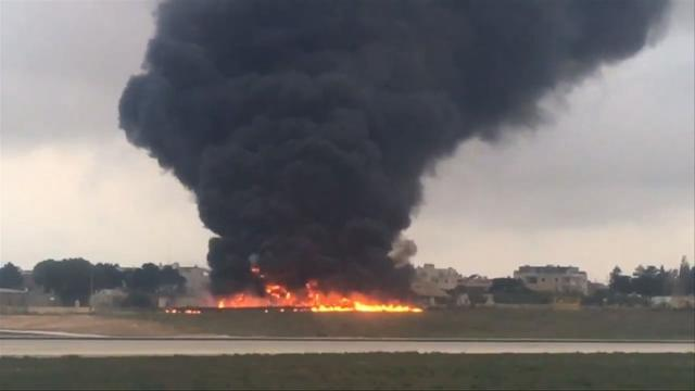 Five killed in Malta plane crash