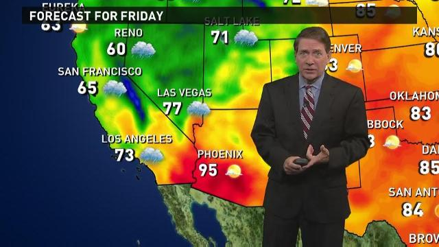 Friday's forecast: California gets much-needed rain