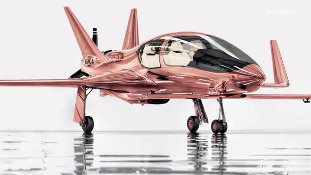 The ultimate Neiman Marcus fantasy gift: $1.5M rose gold plane
