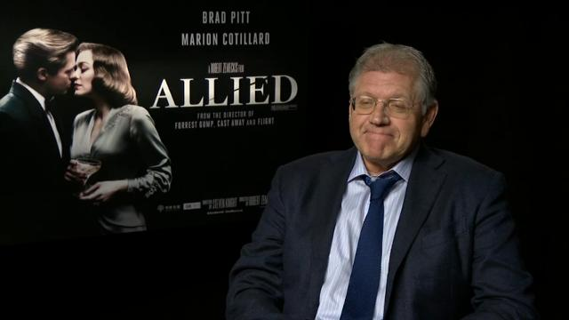 'Allied' producer supports Pitt, despite lack of promo