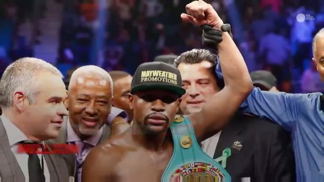 Floyd Mayweather's career fight earnings