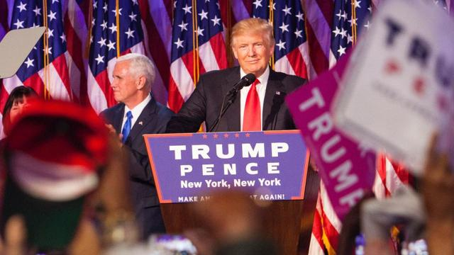 Miss it last night? Watch Trump's full victory speech