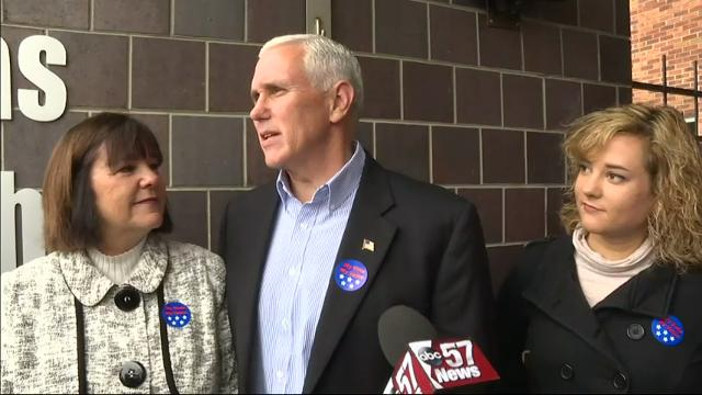Pence: Election Day is humbling, moving