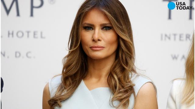 Melania Trump pledges to fight bullying in rare solo speech