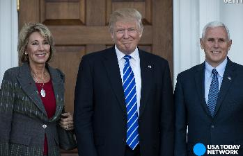 Betsy Devos Trumps Education Pick Plays >> 5 Things To Know About Trump S Education Secretary Pick Betsy Devos