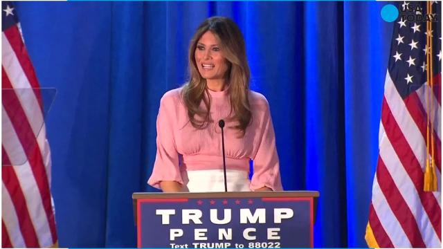 Melania Trump modeled in U.S. before obtaining work visa