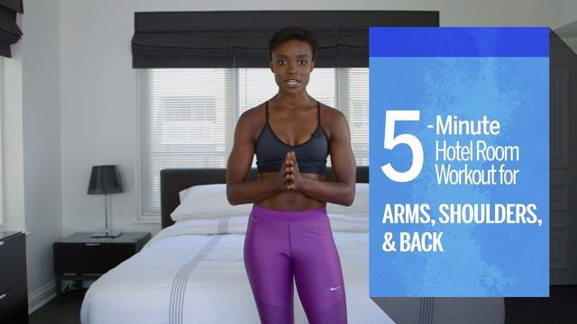 These moves will help strengthen and tone your upper body and help protect your back.