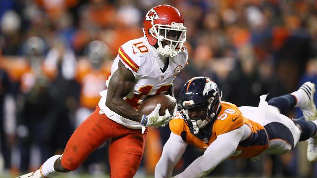 rookie is Tyreek Who Hill? Chiefs