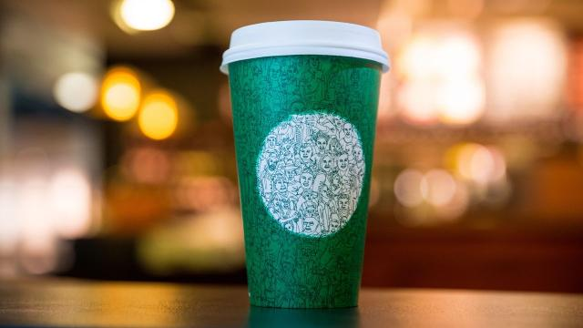People are really upset over Starbucks' green unity cup