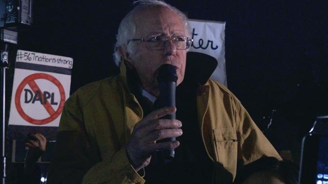 Bernie Sanders asks Obama to declare Standing Rock a national monument