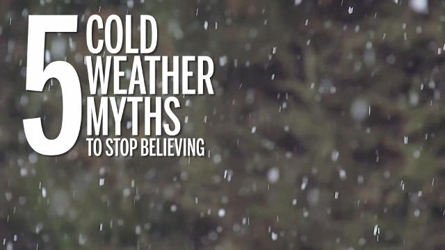 5 cold weather health myths