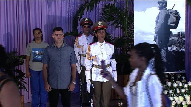 Chinese VP, Cuban five, pay respects at Castro memorial