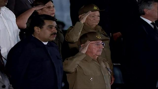 Raw: Fidel Castro honored at Havana rally