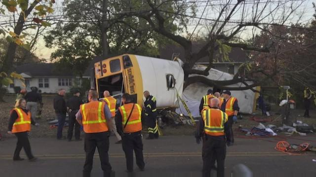School bus driver charged after fatal crash