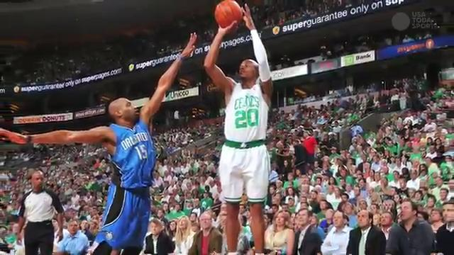 buy popular b6f73 cdf0d Ray Allen retires from NBA as three-point legend