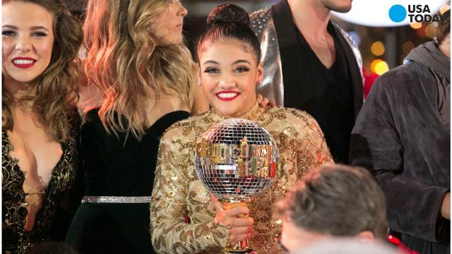 Carrie Ann Inaba Wedding.Laurie Hernandez Wins Dancing With The Stars