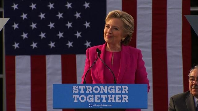 Clinton plots final push as race tightens