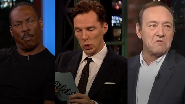 Celebrities impersonating celebrities