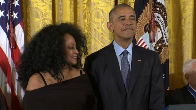 DeGeneres, Hanks, Ross honored at White House