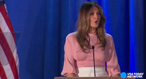 Will Melania Trump be a model first lady?
