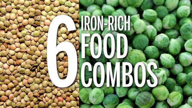 6 iron-rich food combos