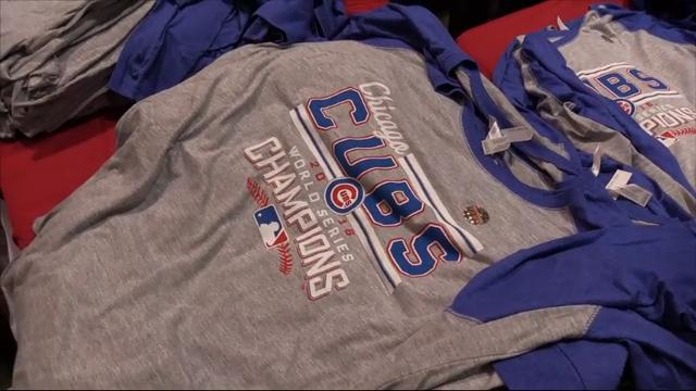 5274dedde5a Cubs Fans Buying World Series Championship Gear