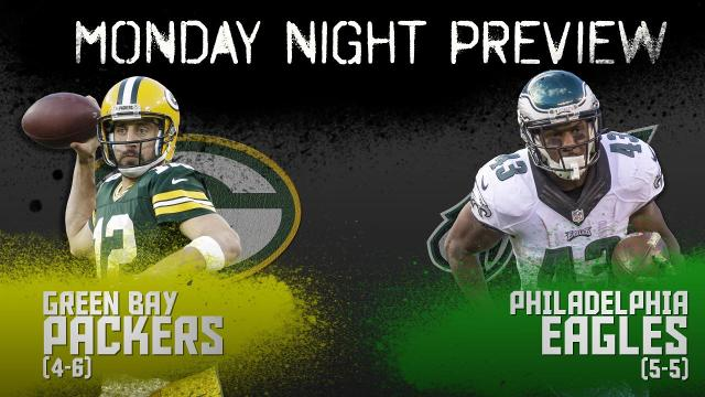 SI.com gives a quick preview of the Monday Night Football game between the Green Bay Packers and the Philadelphia Eagles.