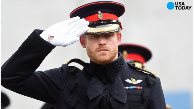 Prince Harry makes first outing after confirming relationship
