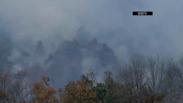Dozens of wildfires burning in Southeast