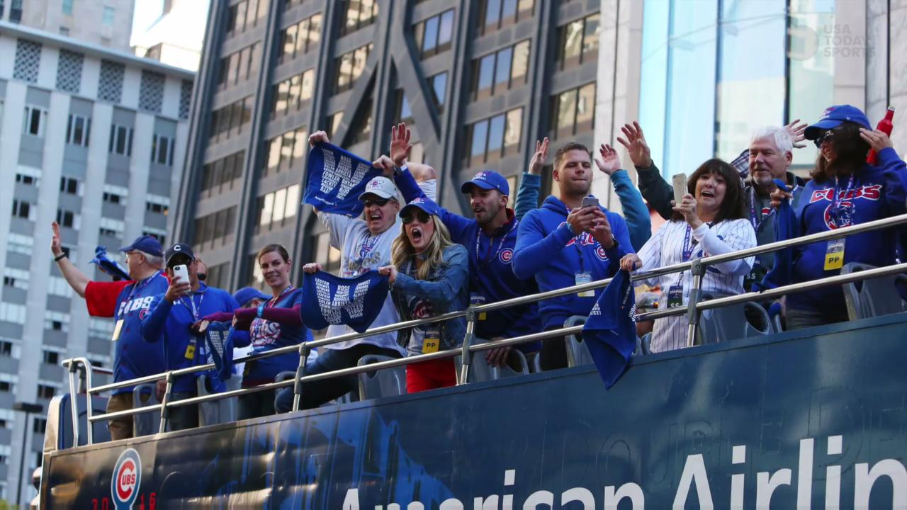 Chicago welcomes home champion Cubs with massive celebration
