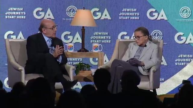 Justice Ginsburg: Trump will fill court vacancy
