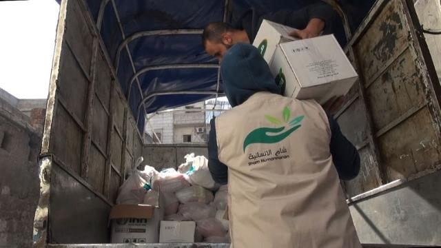 'Our depots are empty': food aid runs out in Syria's Aleppo