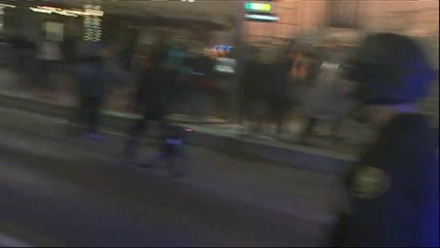 Portland, Oregon Police Try to Disperse Protesters