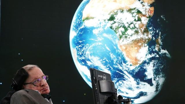 Stephen Hawking gives Earth an expiration date