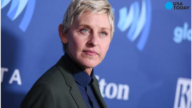 Ellen DeGeneres gives message of hope to Americans