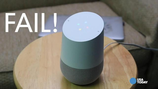 Watch Google Home struggle to answer queries