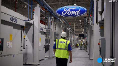 Trump falsely claims saving a Ford plant