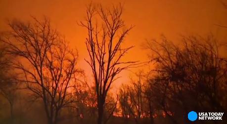 Tennessee wildfires leave trail of destruction