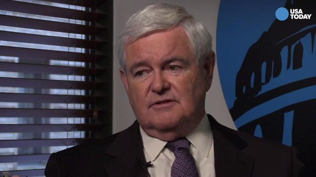 Newt Gingrich: 'I'm very dubious about Romney'