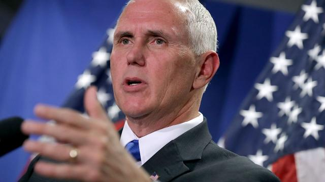 Vice President-elect Mike Pence is still facing a lawsuit over an email he received as governor of Indiana. Video provided by Newsy