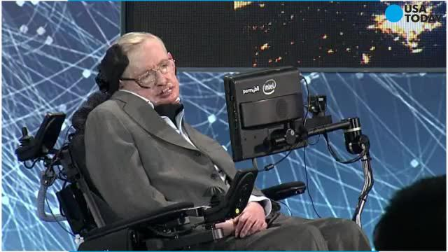 Science celebrity Stephen Hawking says the only way humankind can escape mass extinction is to find another planet.