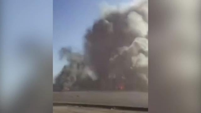 Raw: Death Toll Climbs in Car Bombing in Iraq