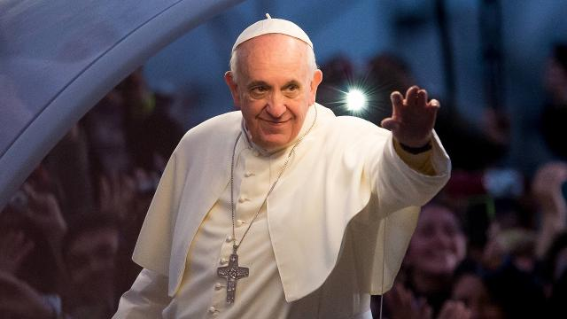 The Pope says women weren't meant for priesthood