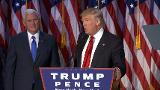 Trump claims stunning victory as 45th president