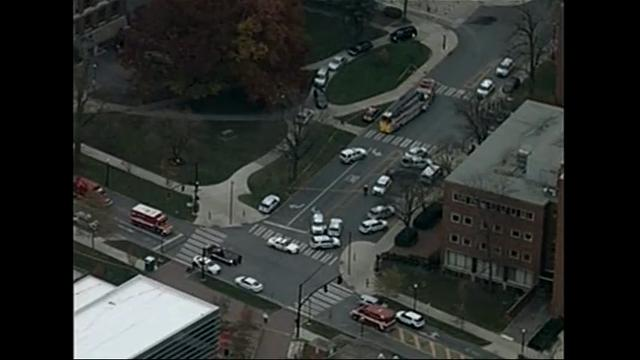 Ohio State tweets active shooter on campus